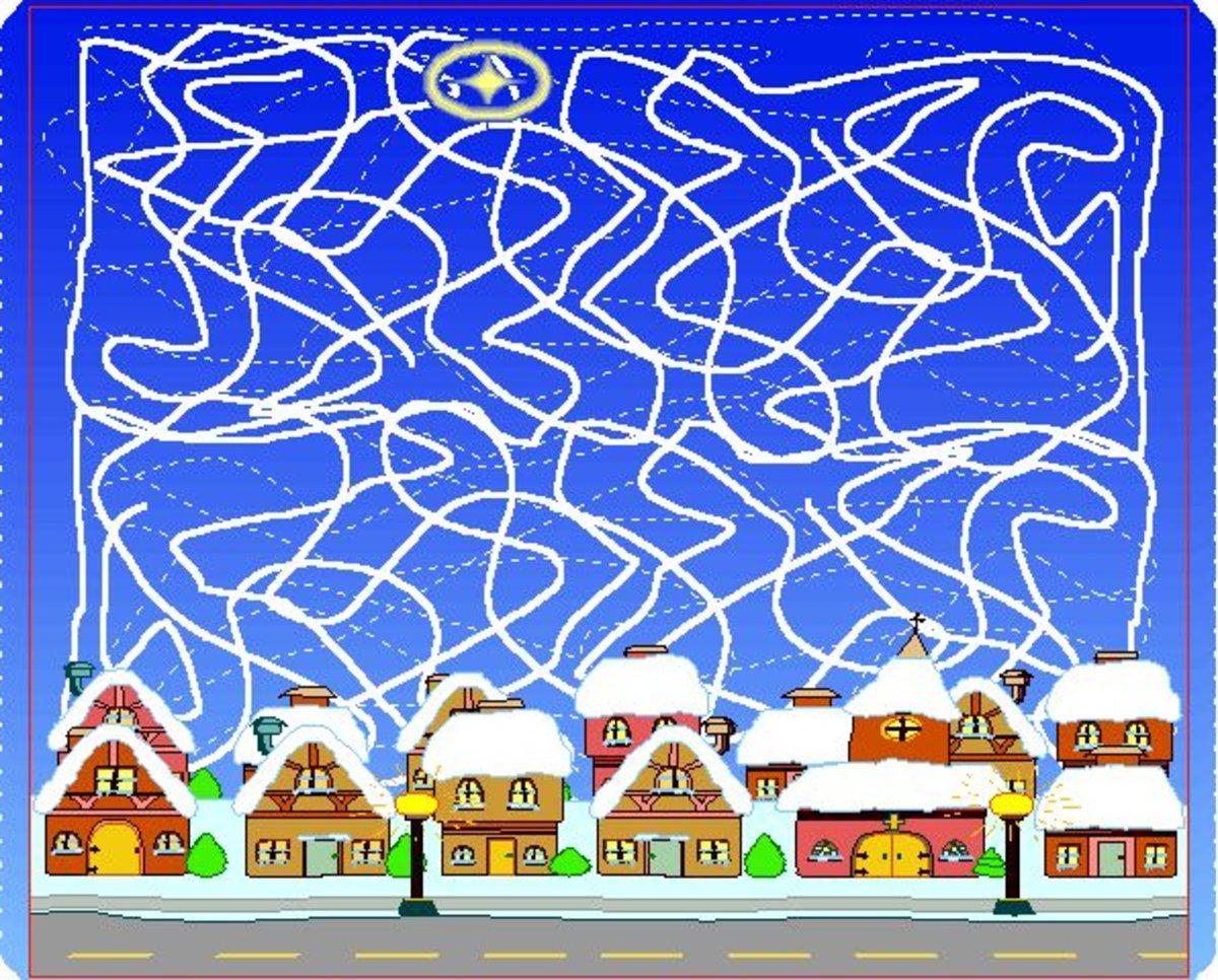 Weihnachtsgrüße Polizei.Eine Mir Als Weihnachtsgruß Zugeschickte Zeichnung Langenfeld Im