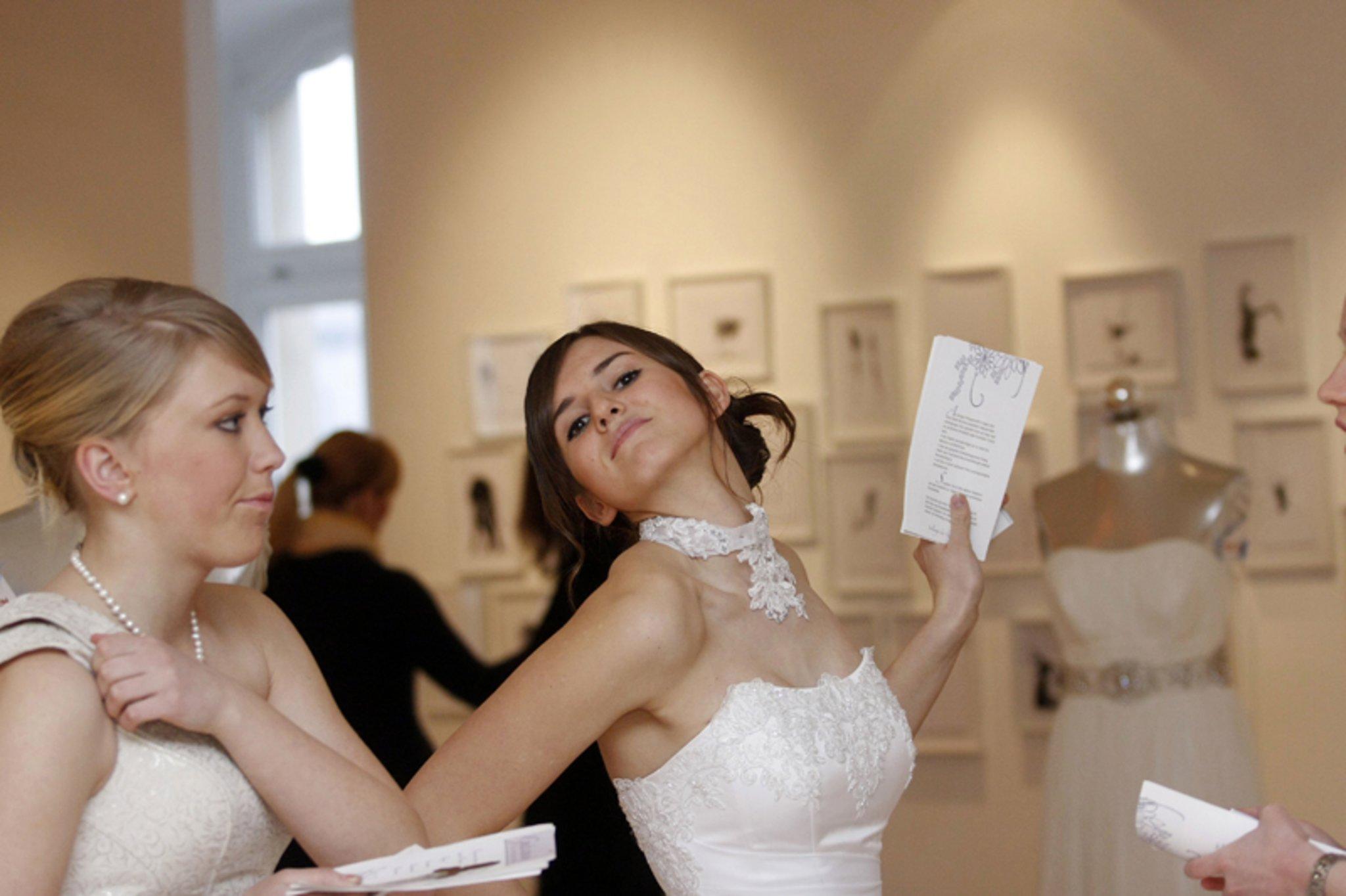 Rund Um Die Brautmode In Der Stadtischen Galerie Iserlohn