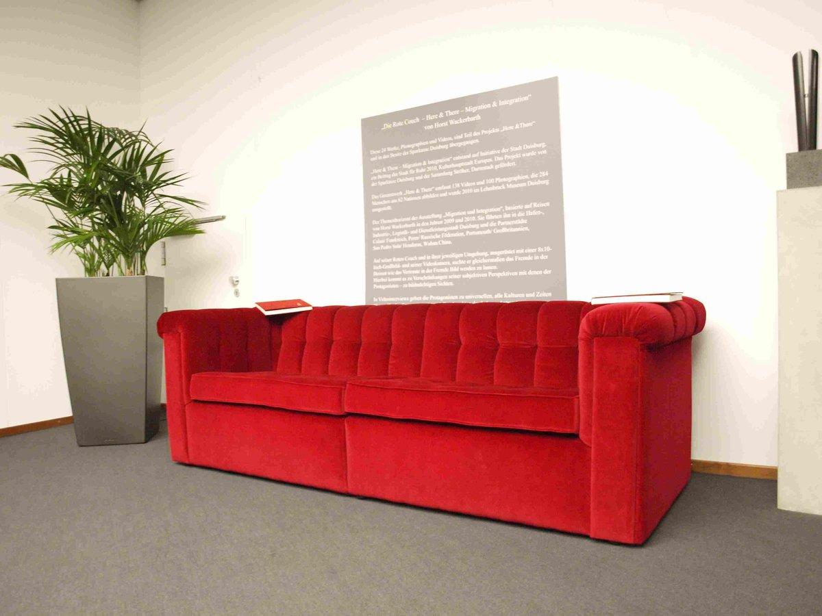 Wackerbarths Rote Couch Gastiert In Der Mercatorhalle Duisburg