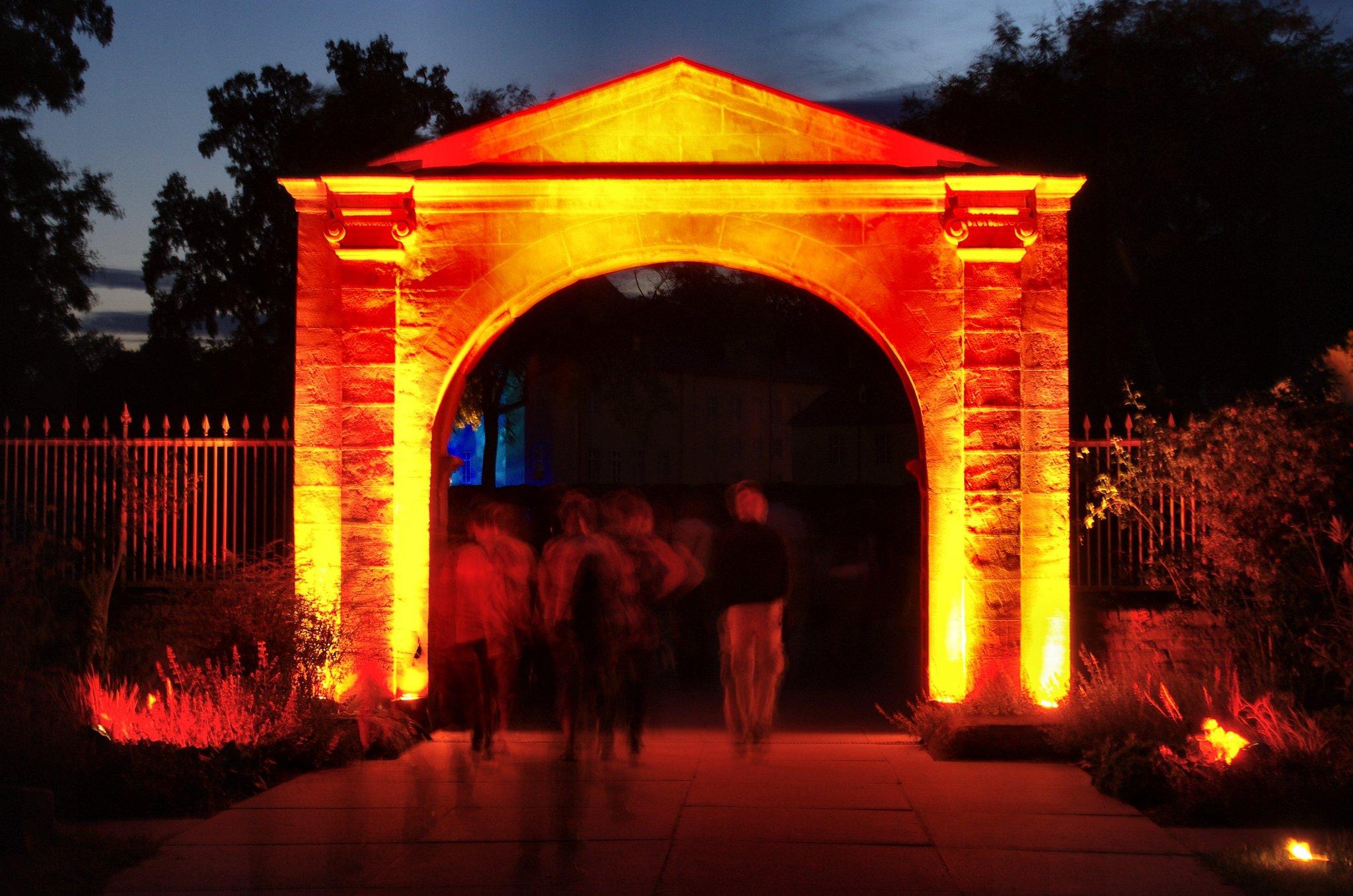 Schloss dyck lichterfest 2020