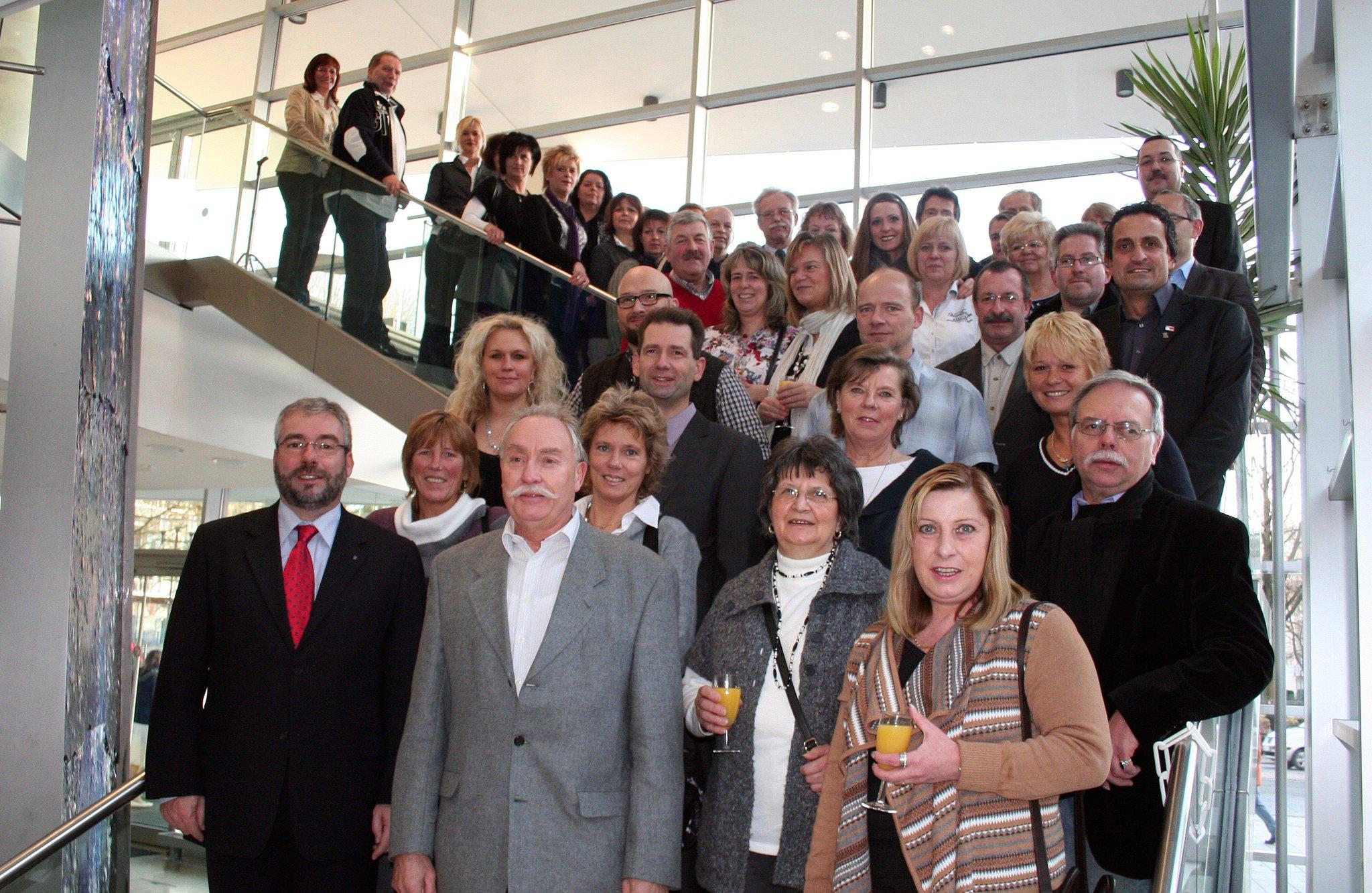 Stadt Hagen Ehrt Jubilare Und Pensionare Hagen