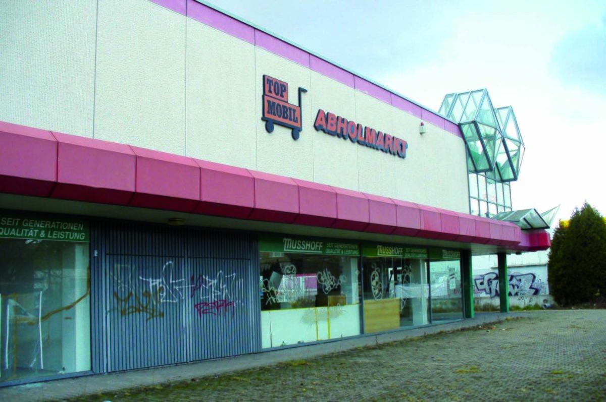 Leerstehendes Möbelhaus Soll Freizeit Center Werden Waltrop