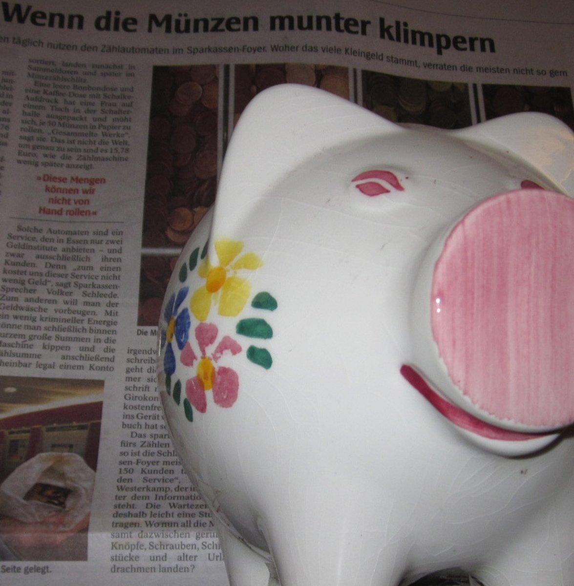 Tageszeitung Aktuelle Information Oder Werbung Essen Süd