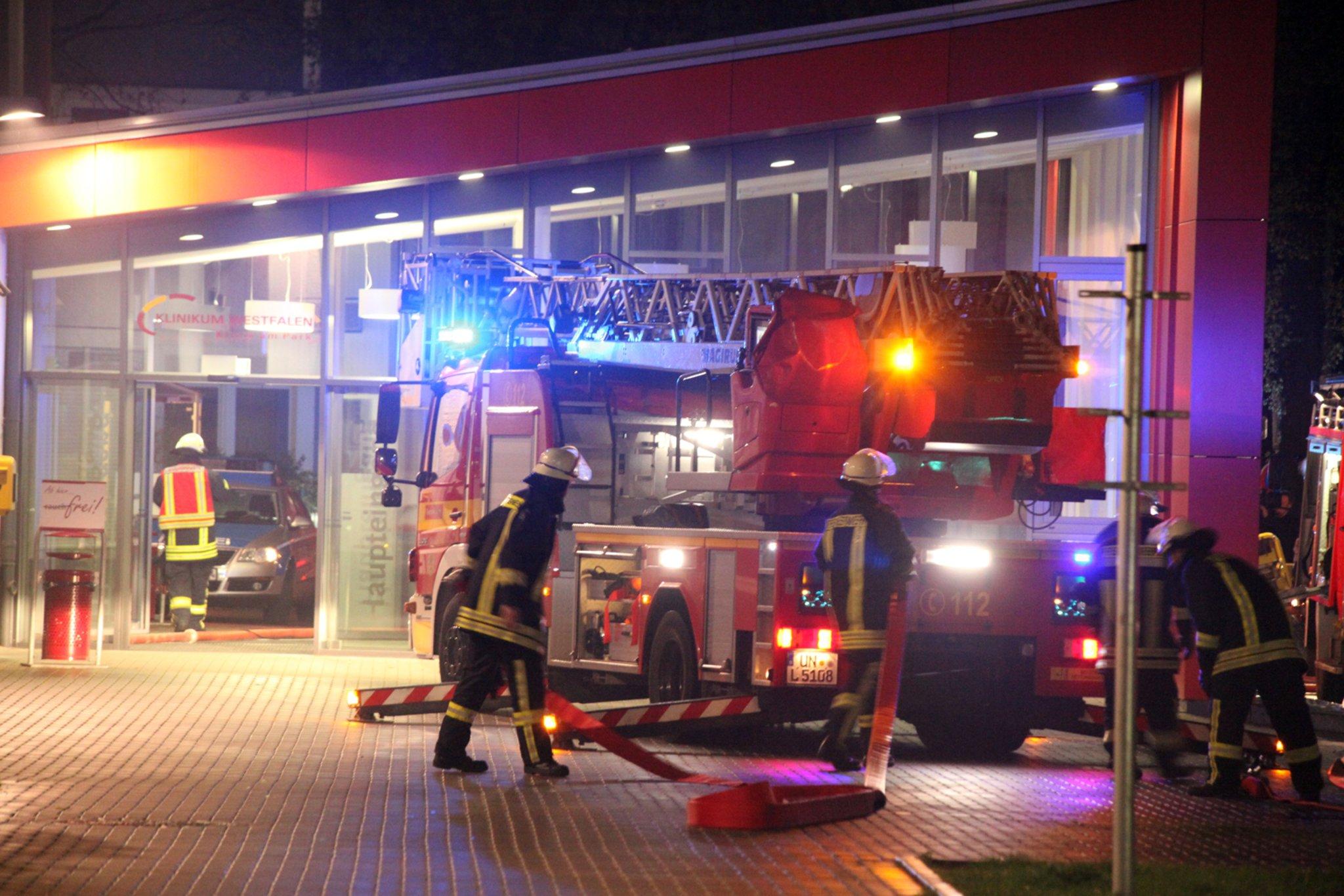Patient Stirbt Bei Feuer In Klinik Am Park Lünen