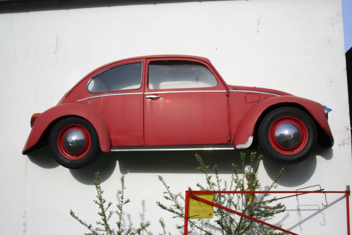 Vw Ein Auto Kommt Durch Die Wand Menden Lendringsen