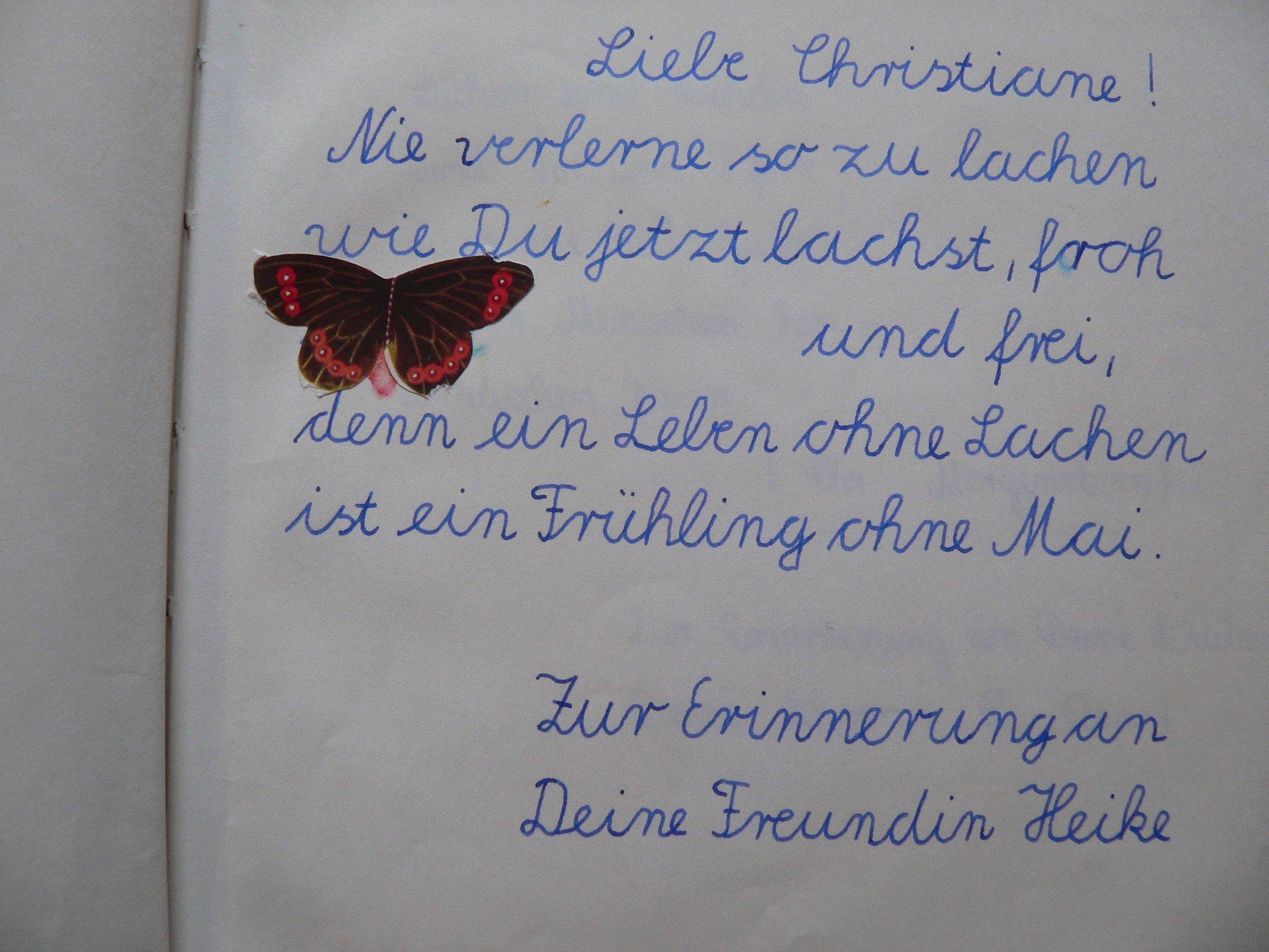 Mitmachaktion Beim Klever Wochenblatt Mein Poesiealbum Kleve