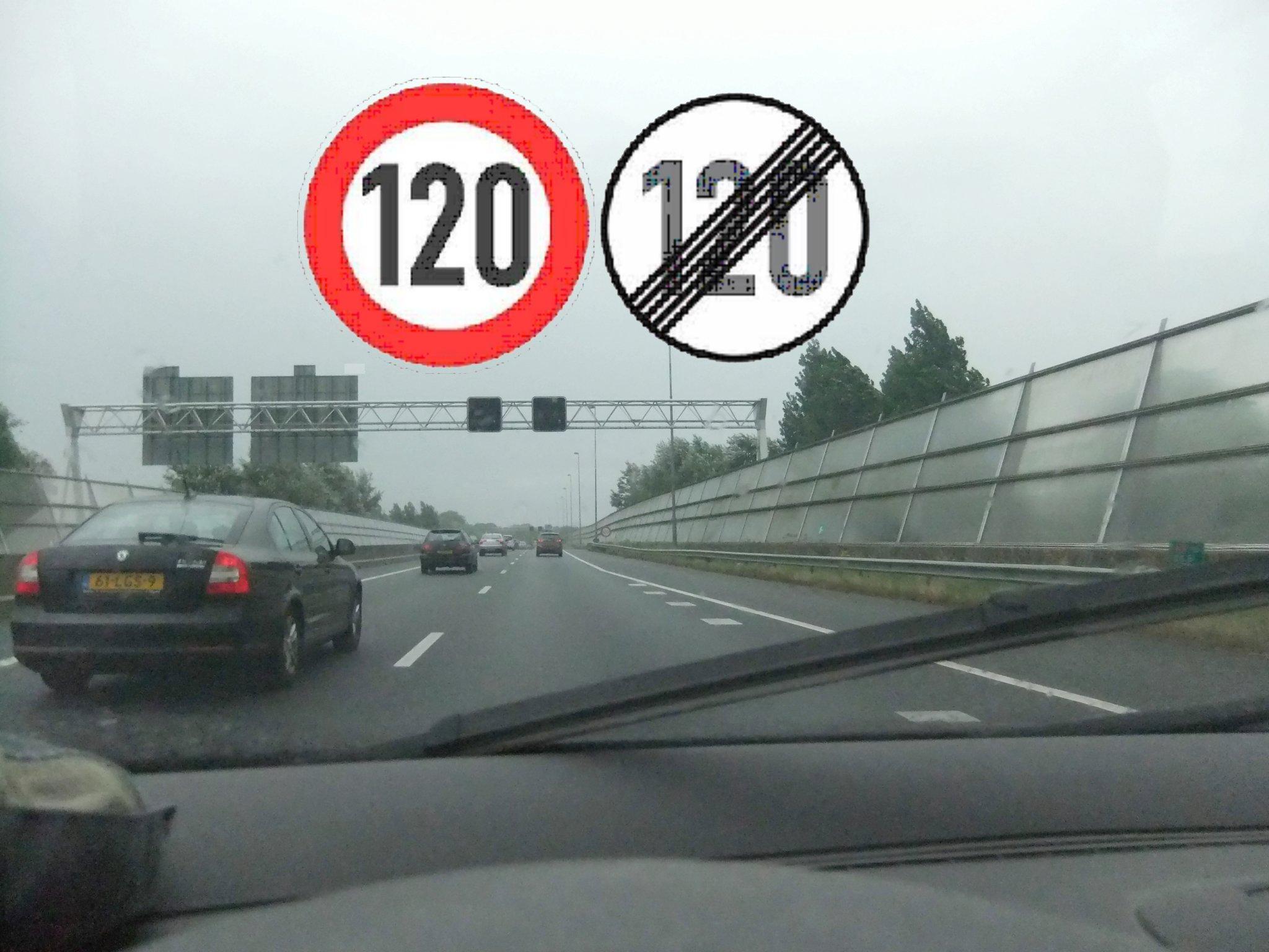 Geschwindigkeitsbegrenzung Niederlande