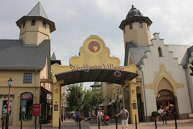 Wertheim Village Läden