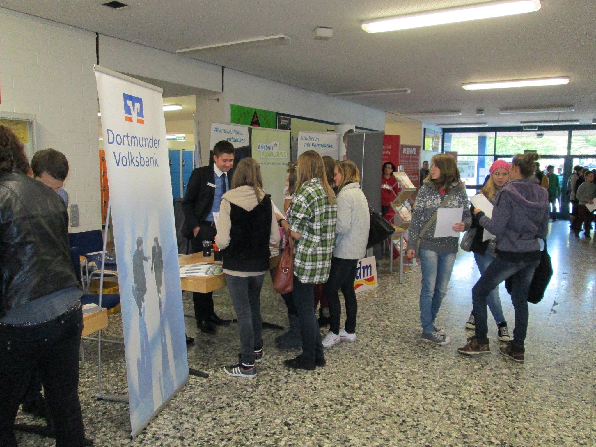 Jobbörse An Der Max Born Realschule Am 04102012 Ein Rückblick