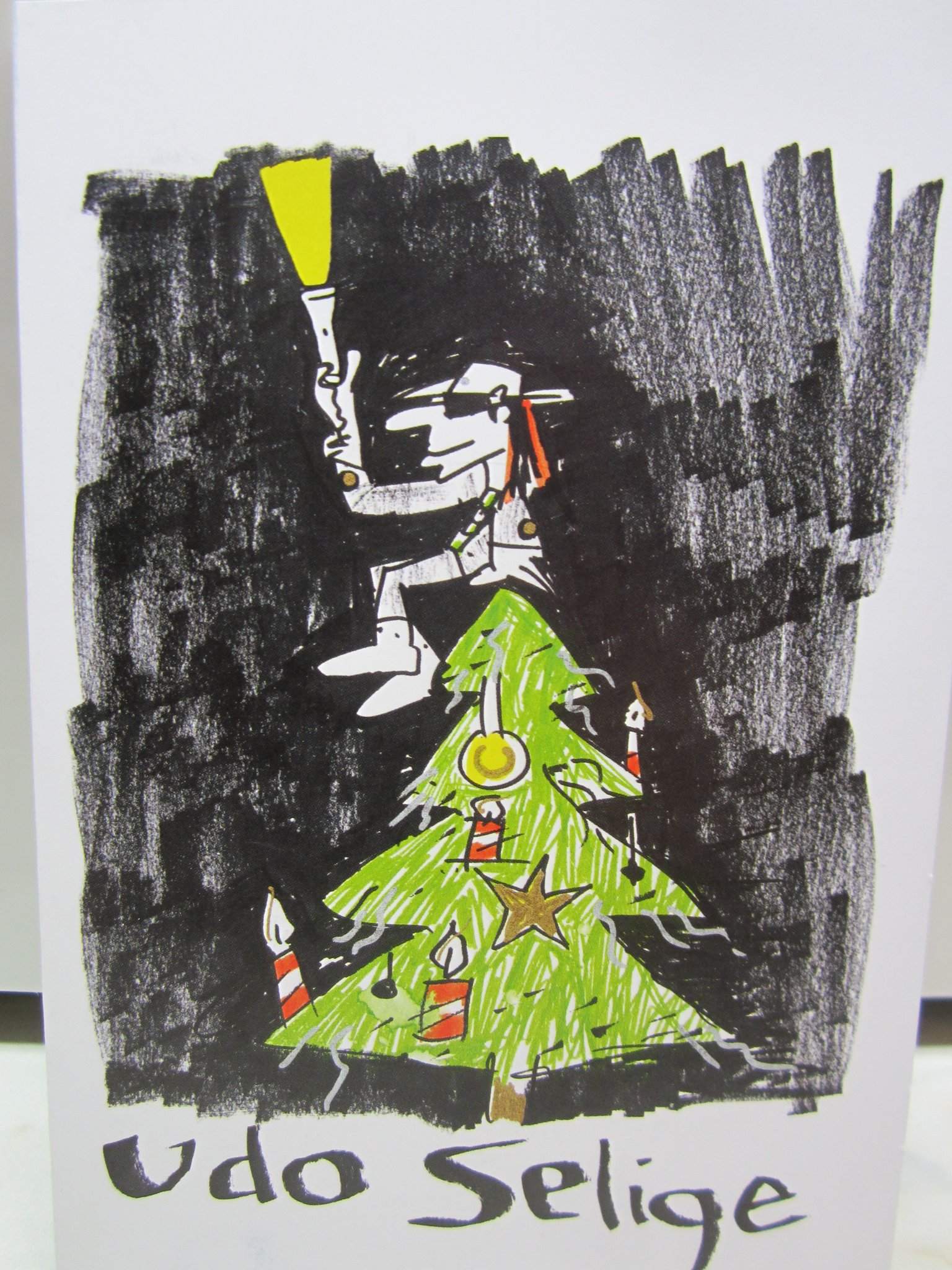 Weihnachtskarten Udo Lindenberg.Udo Lindenberg Für Unicef Wesel