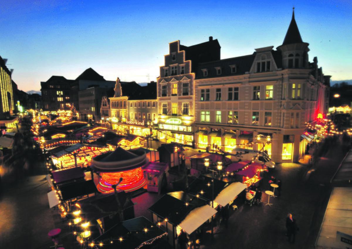 Weihnachtsmarkt Heiligabend.Weihnachtsmarkt In Der Recklinghäuser City Hat Noch Bis Zum 23