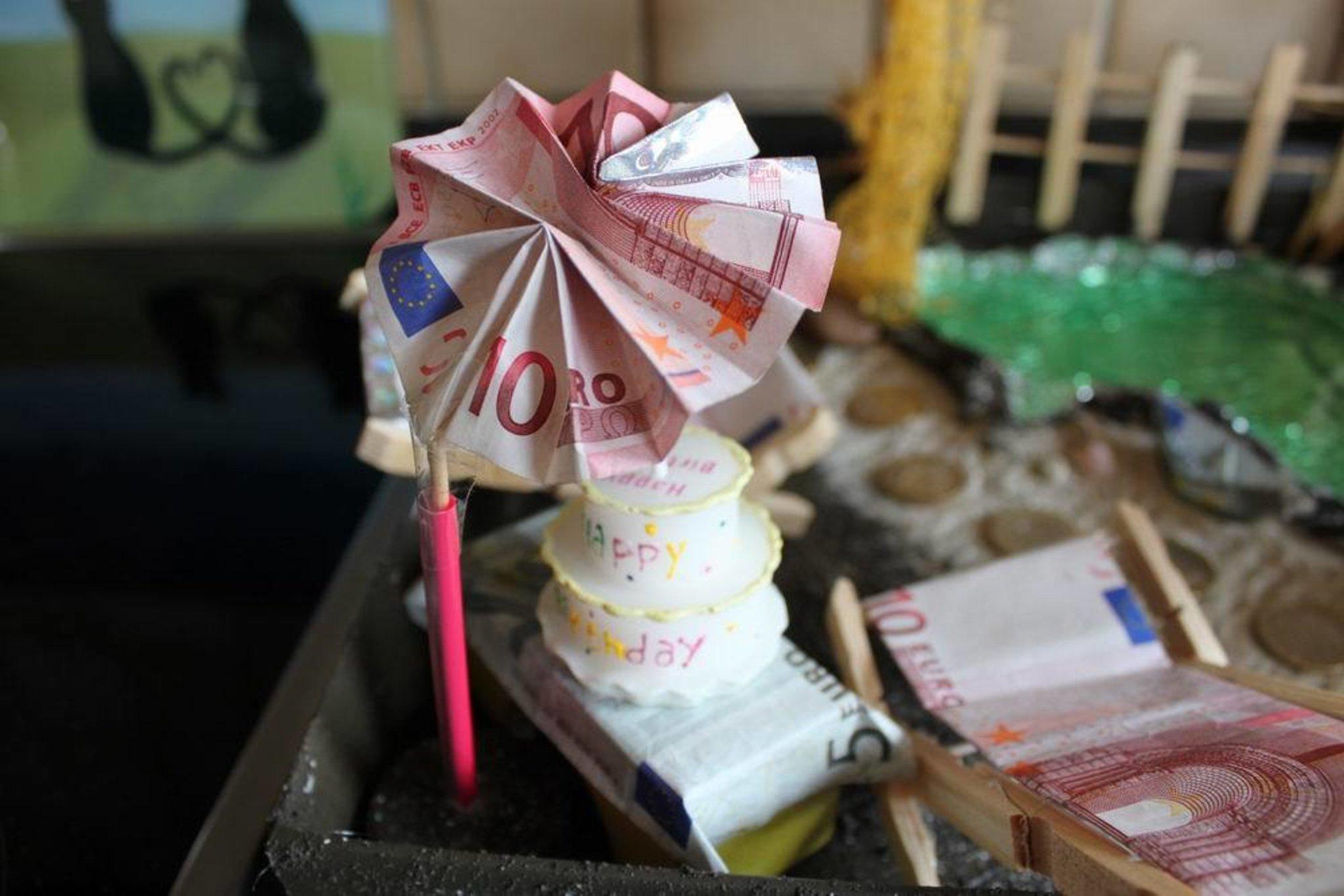 Kreatives Geldgeschenk Heiligenhaus