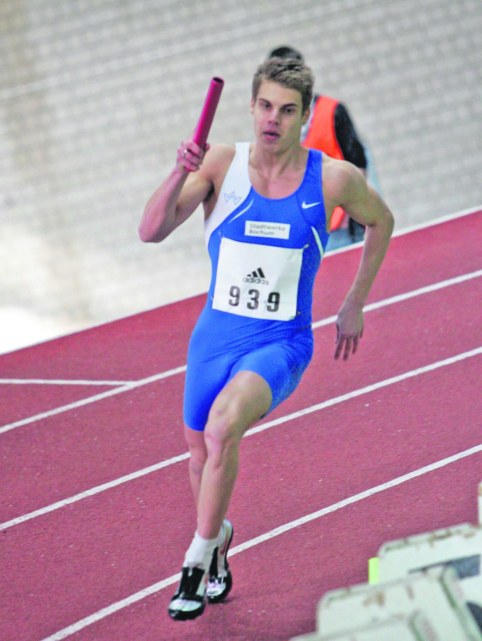 Leichtathletik Sprinter Julian Reus Sorgte Fur Das Highlight Wattenscheid