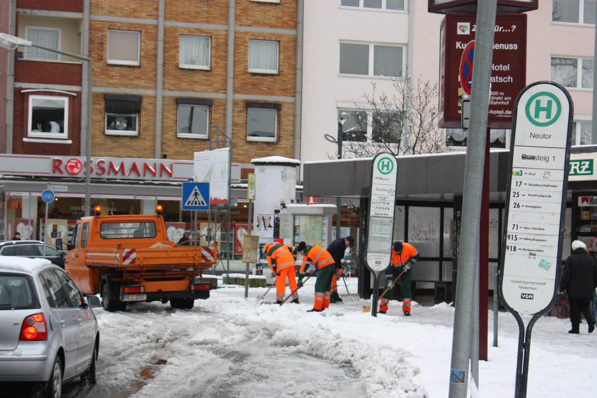 Gibt S Eis Und Schnee Auch Fur Den Strassenkarneval Dinslaken