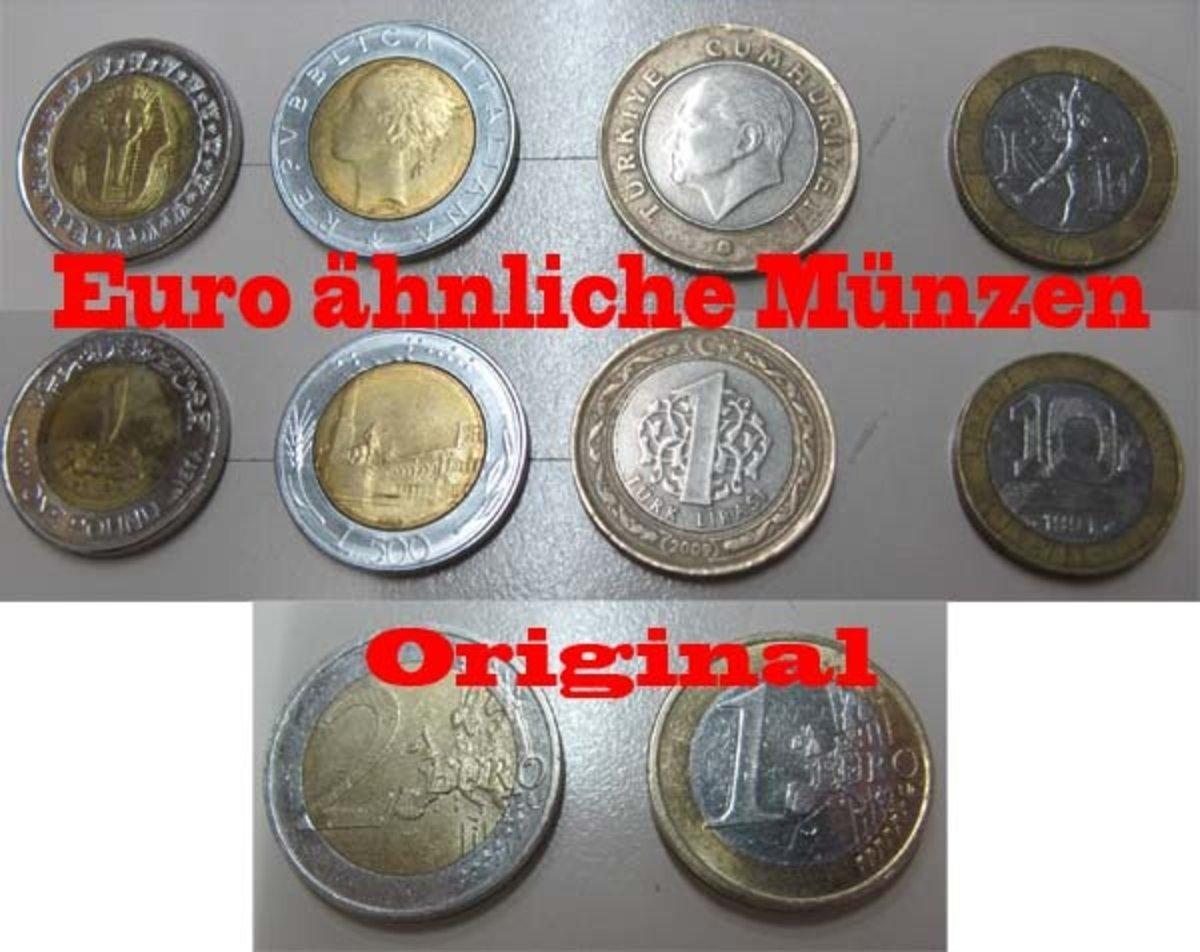 Falsche Euromünzen Moers