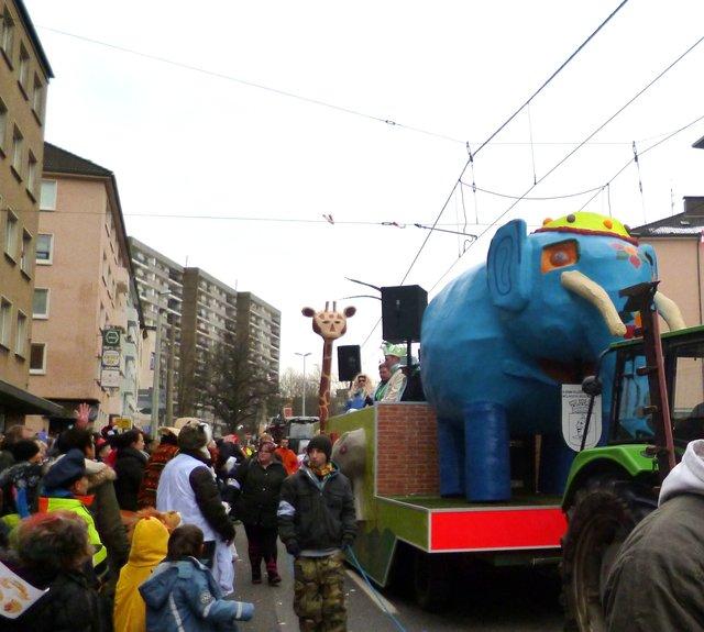 Rosenmontagszug Mülheim