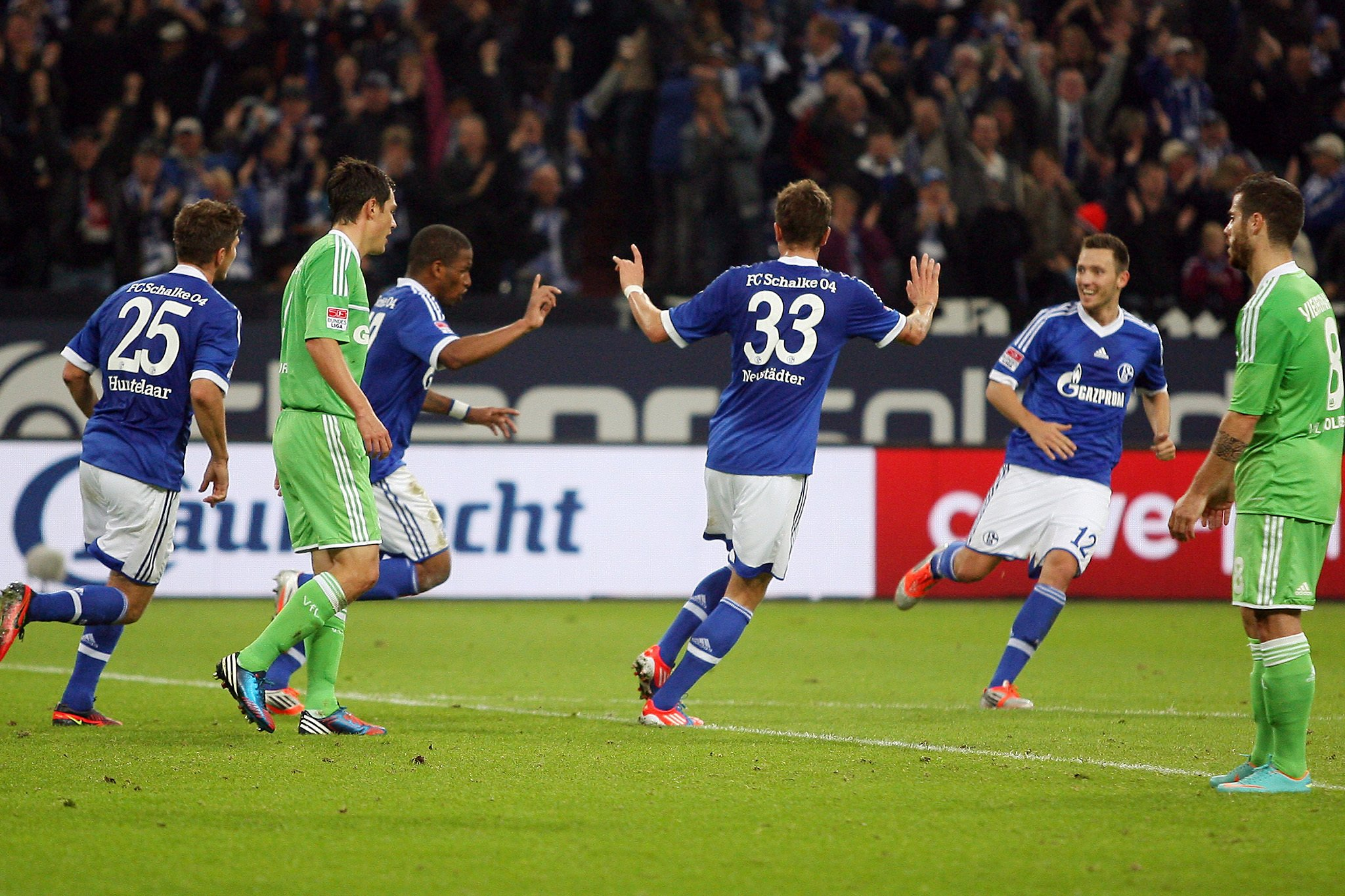 Schalke Gegen Wolfsburg