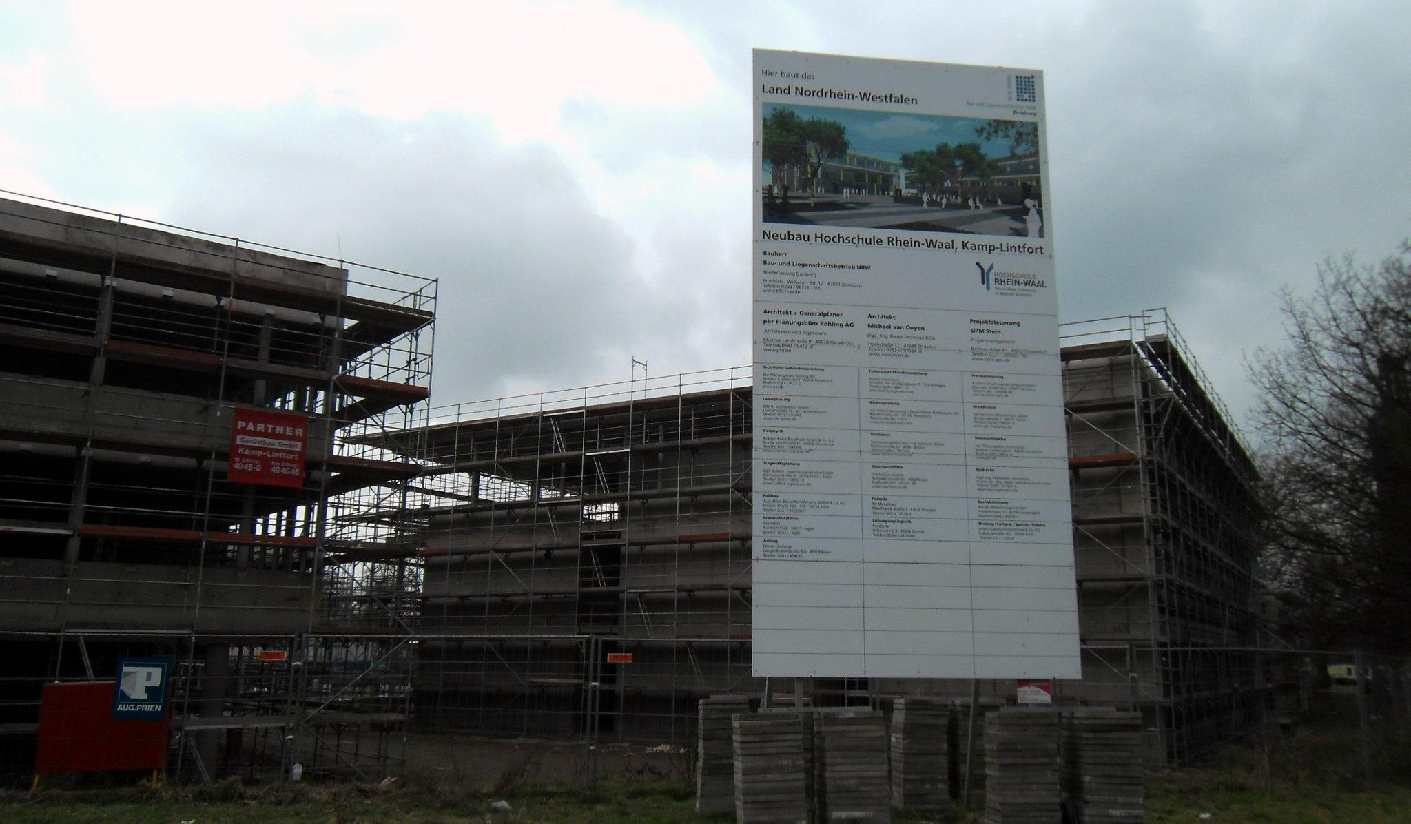 Hochschule Rhein-Waal Teil 3 - Kamp-Lintfort