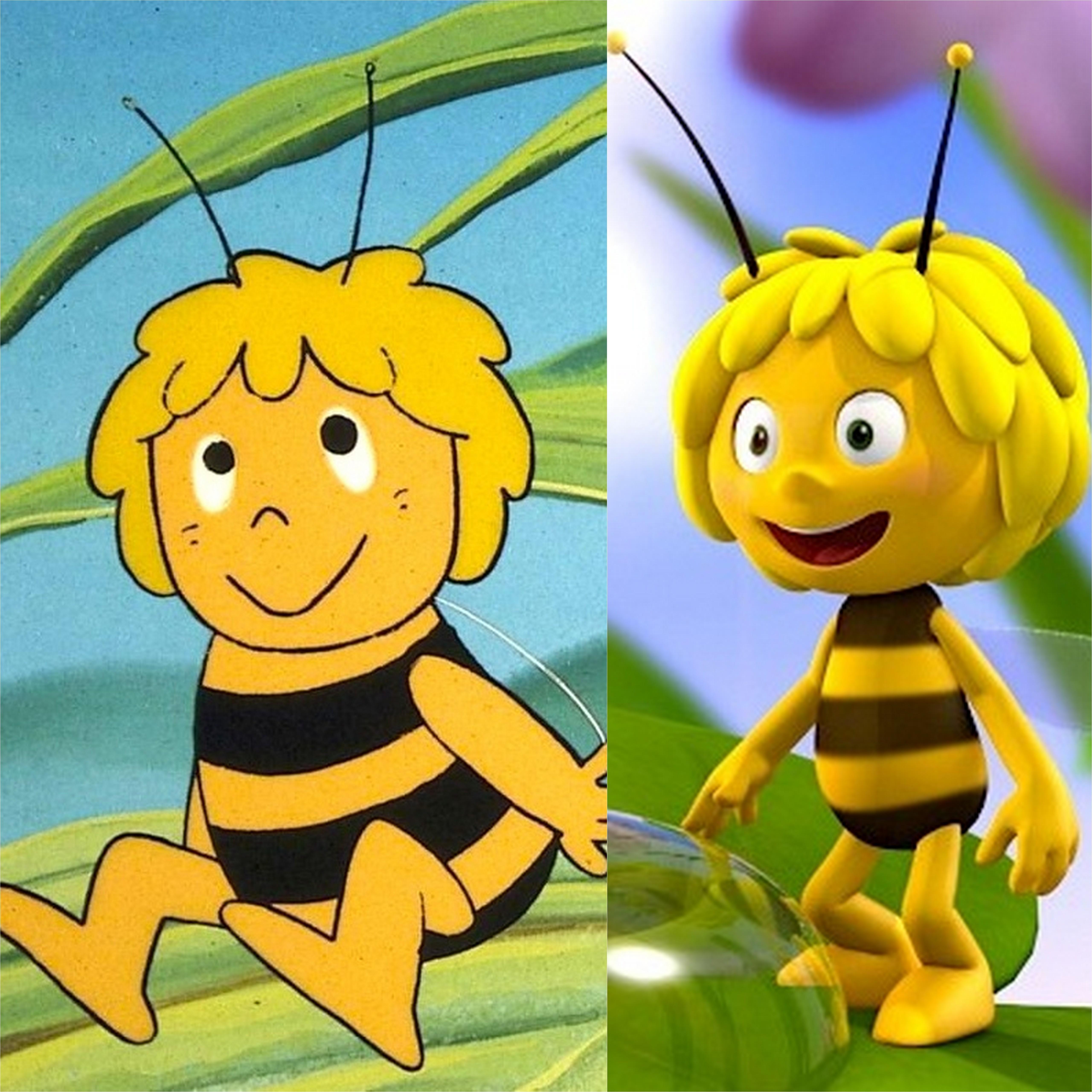 Ist diese Topmodel-Biene noch unsere  Maja? Eure