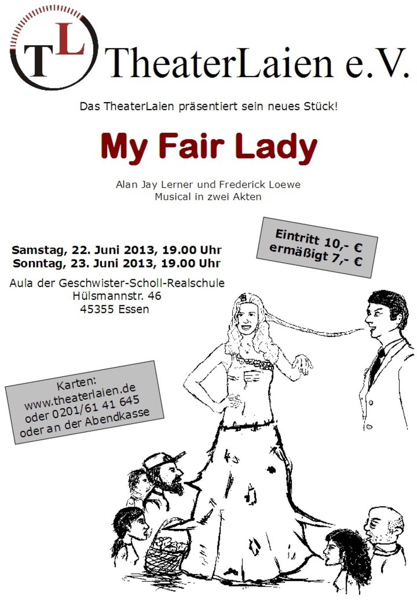 My Fair Lady Essen