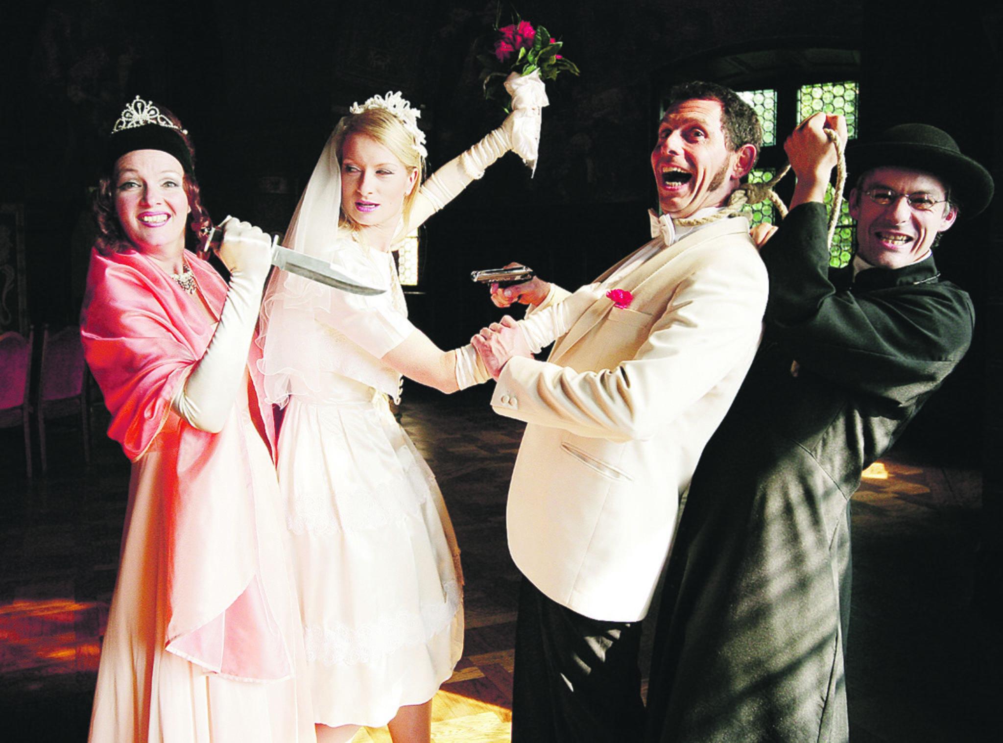 Morderische Hochzeit Gewinnen Sie 2x2 Tickets Mulheim An Der Ruhr