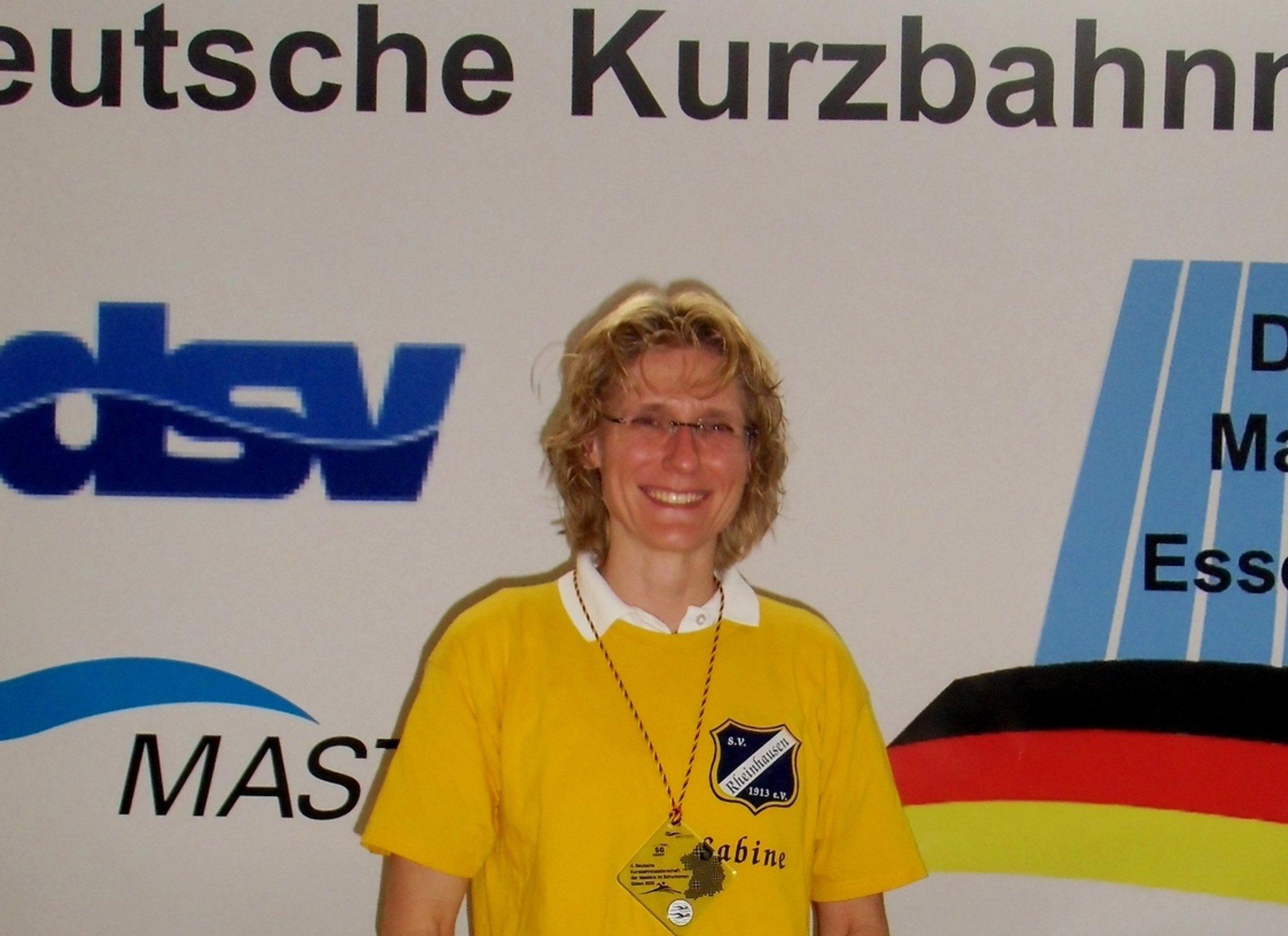SV Rheinhausen - Sabine Leiding wird zweimal Vizemeisterin ...