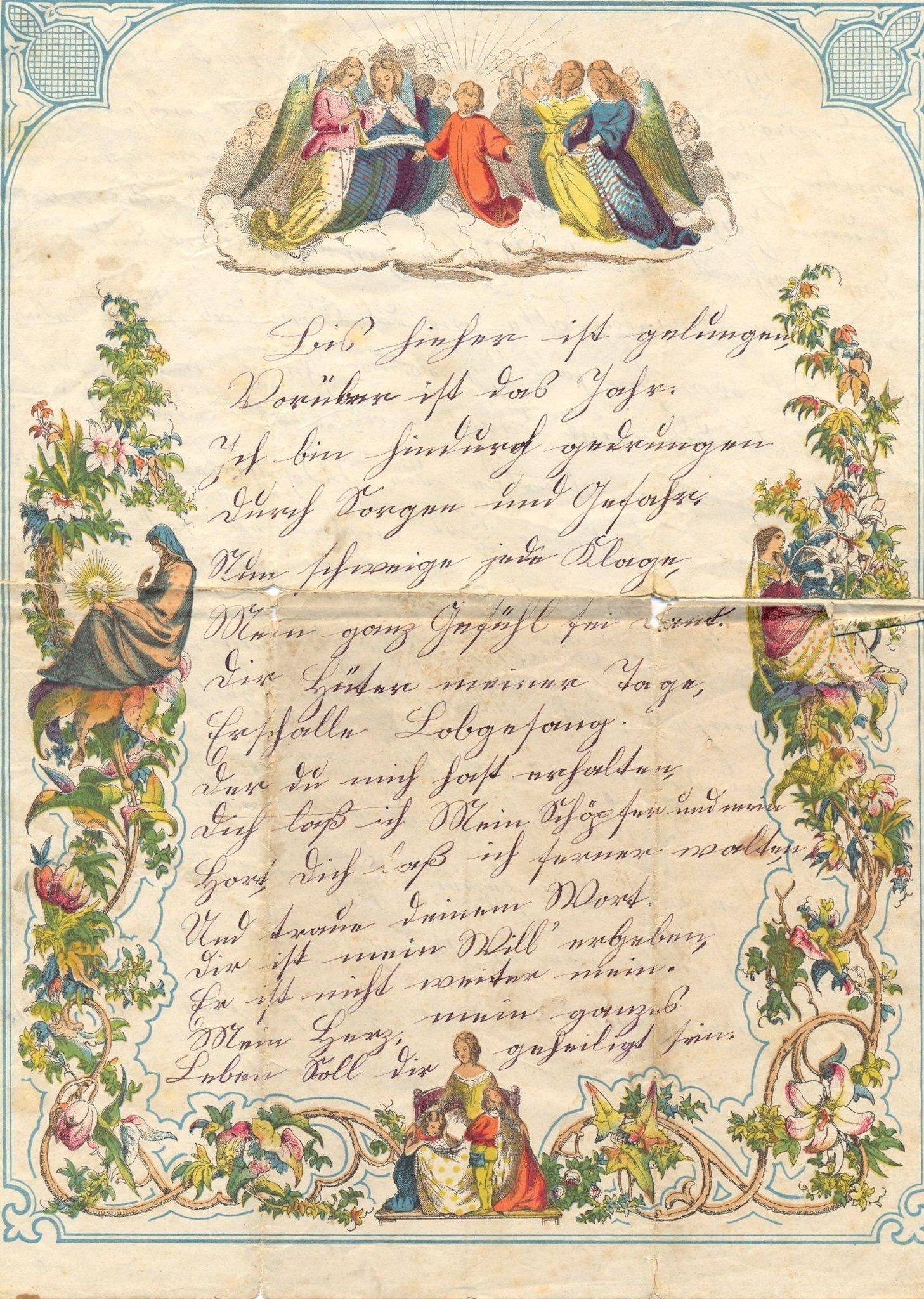 Geschichte der Geschenke zu Weihnachten und Neujahr - Marl
