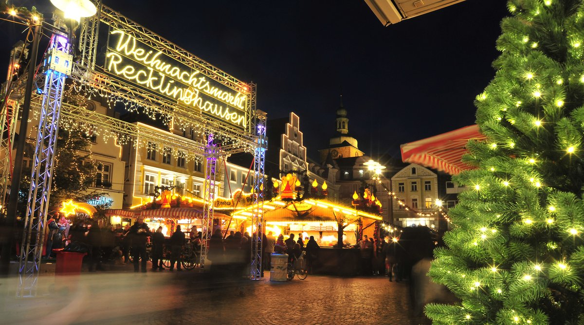 Weihnachtsmarkt Recklinghausen.Recklinghäuser Weihnachtsmarkt Endet Am 29 Dezember Recklinghausen