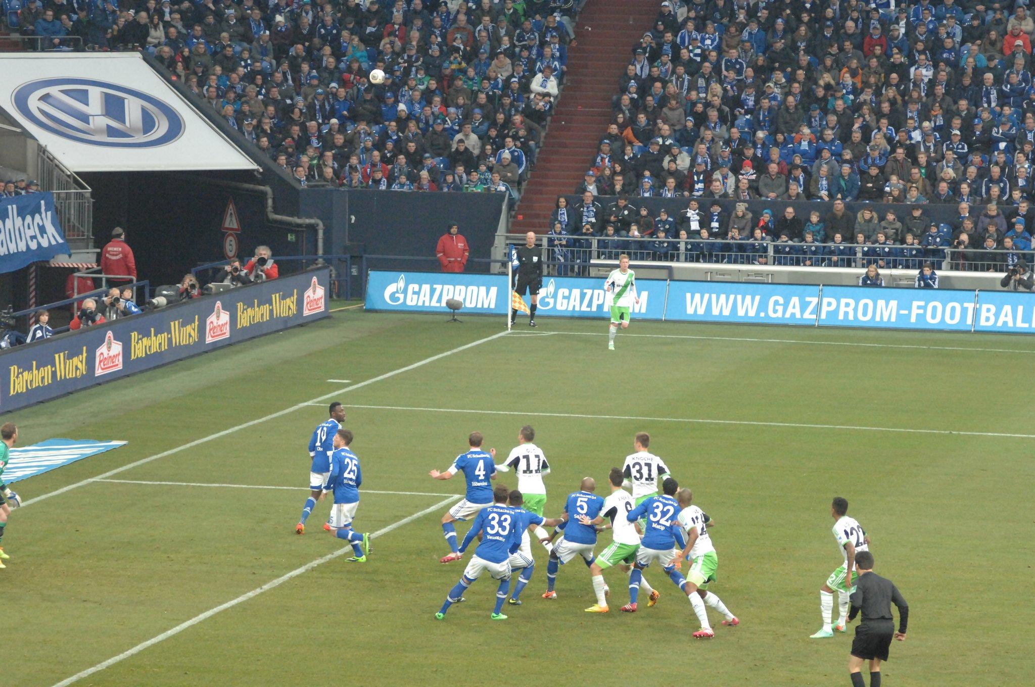 Schalke besiegt Wolfsburg  - Herne