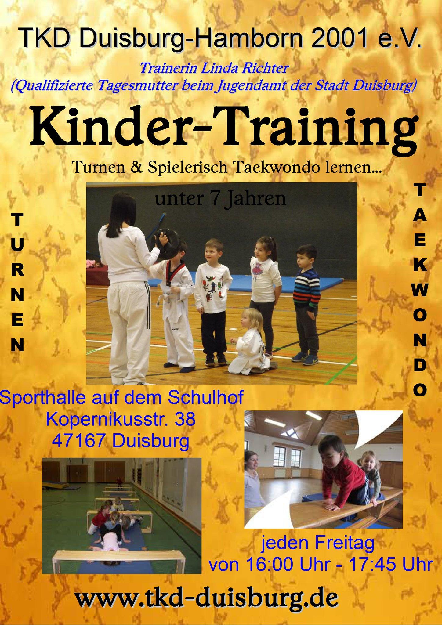 Neuer Kurs Beim Taekwondo Duisburg Hamborn 2001 E V Duisburg