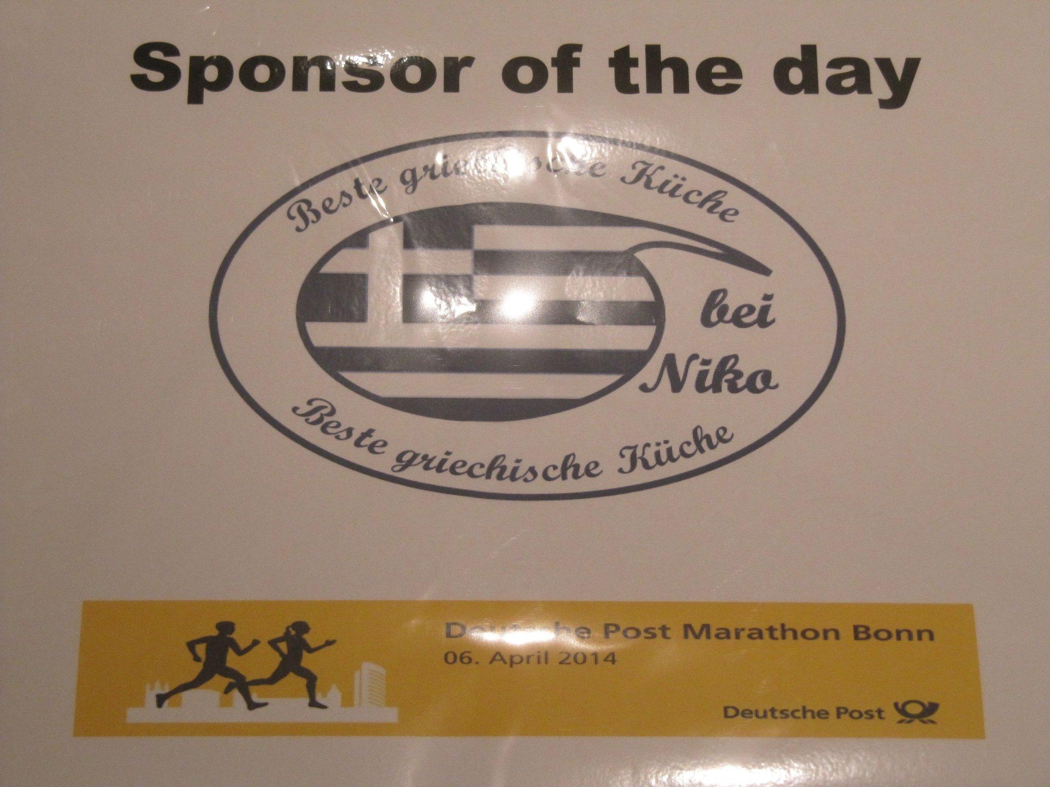 Der Spenden Speed Startet Beim Deutsche Post Bonn Marathon Menden
