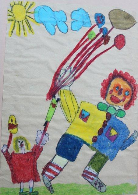 Kinder Malen Ihre Eigene Welt Arnsberg