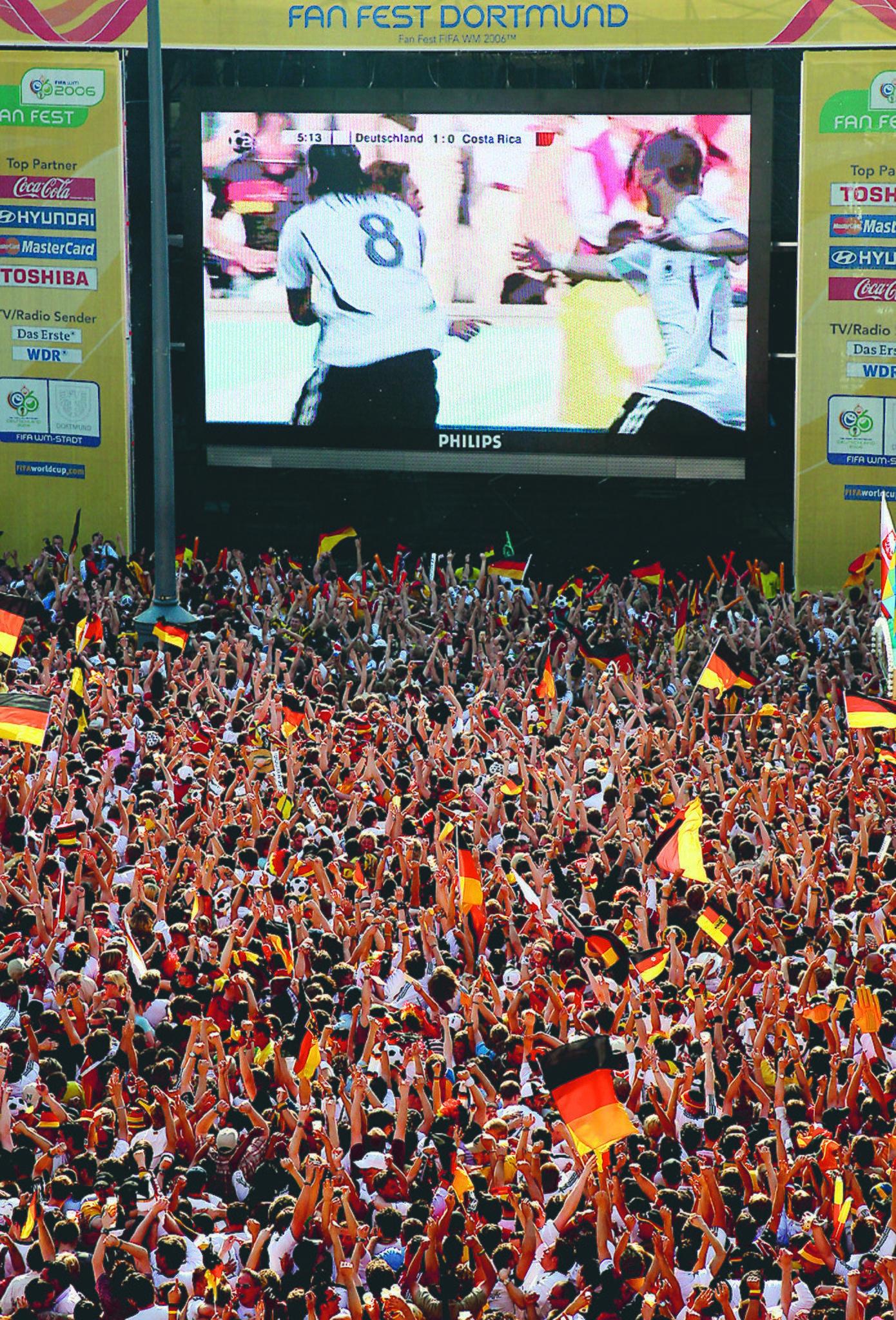 Public Viewing Dortmund