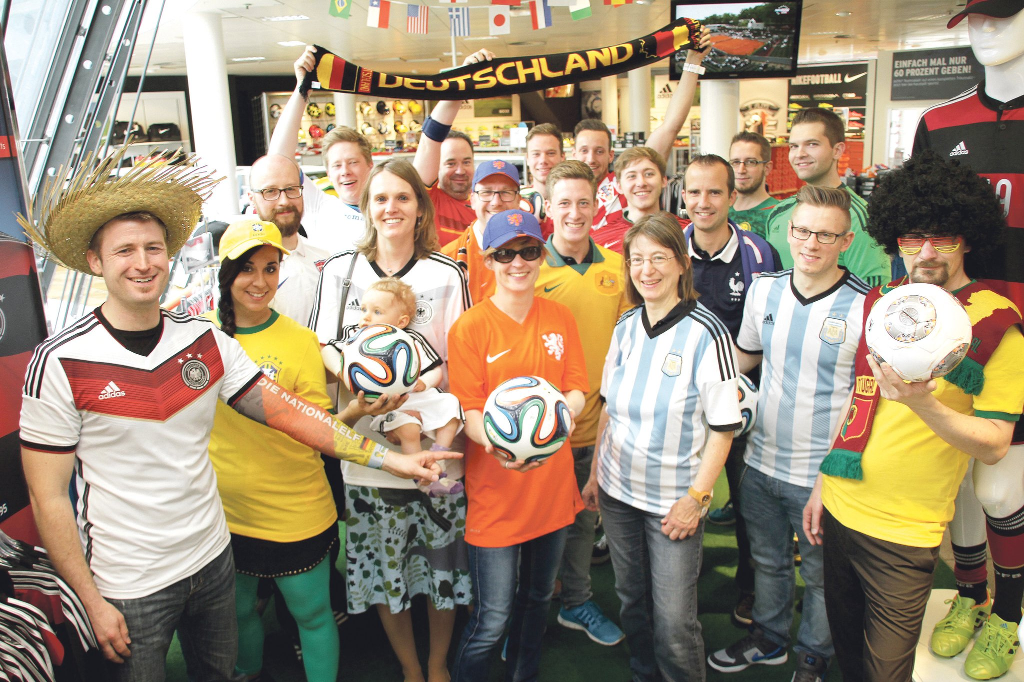 Karstadt Sport Trikot Aktion