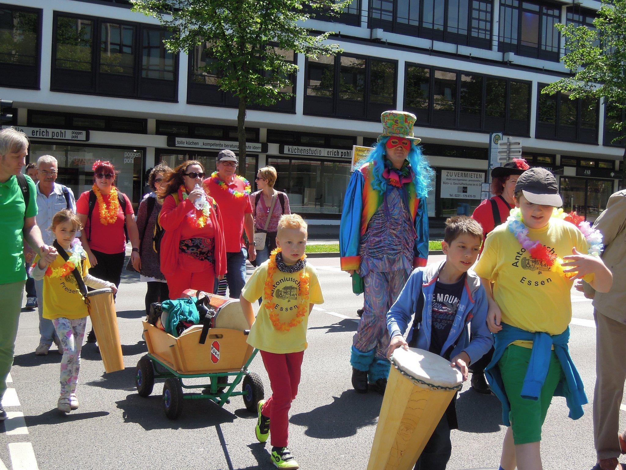 Antoniusschule Teilnahme Am 18 Carnival Der Kulturen In