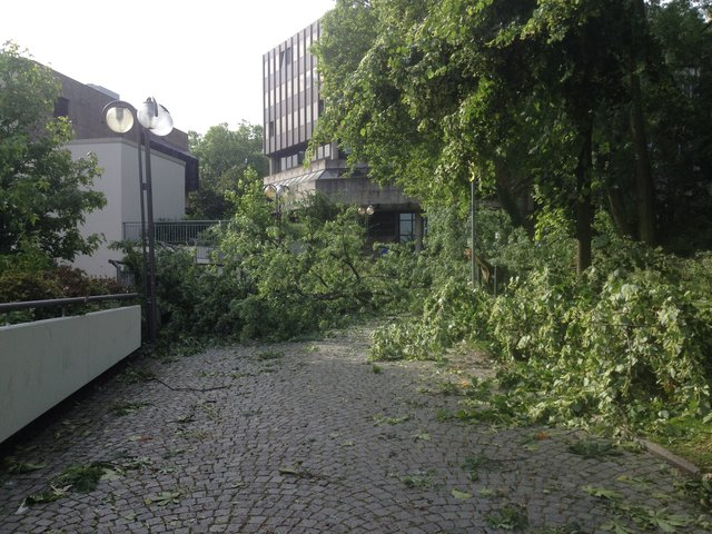Unwetter Bochum