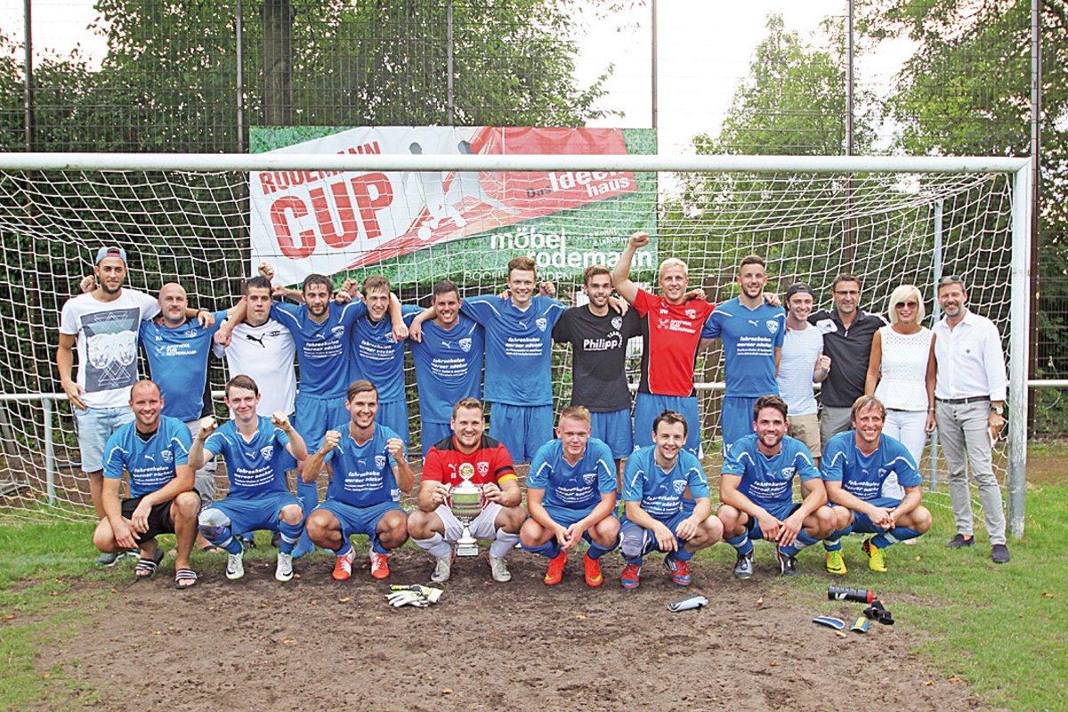 Hart Umkampfter Pokal Sg Linden Dahlhausen Gewinnt Den Rodemann