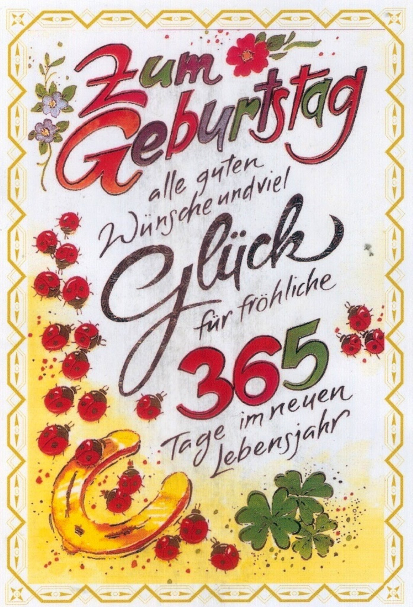 Pin Von Ulrike Schmitt Auf Geburtstagsgrusse Mit Bildern