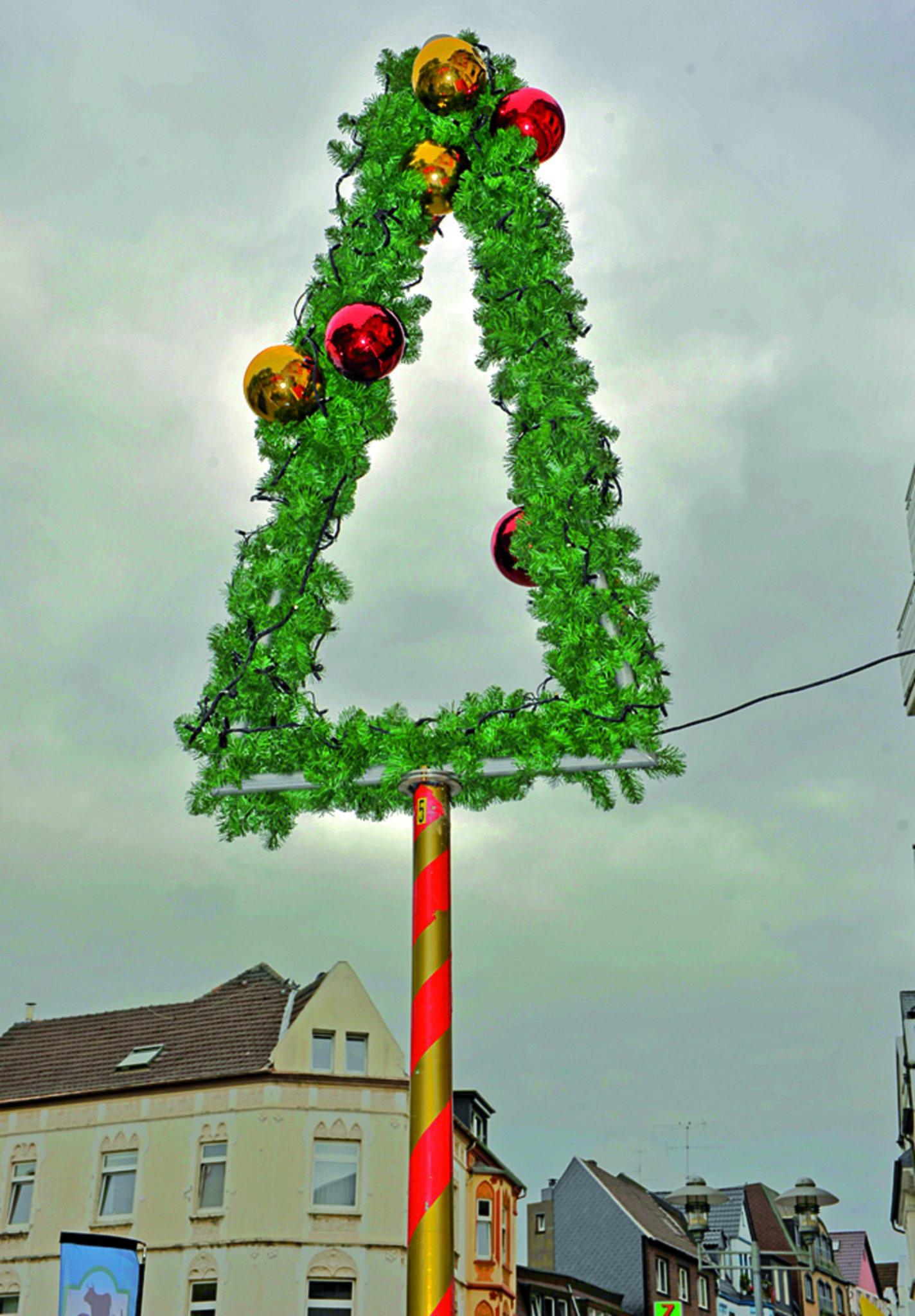 Weihnachtsbeleuchtung Xxl.Neue Weihnachtsbeleuchtung In Sterkrade Oberhausen