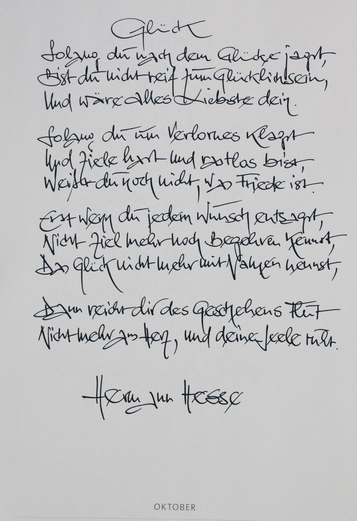 Hesse Hermann Poesie - Poesie Image