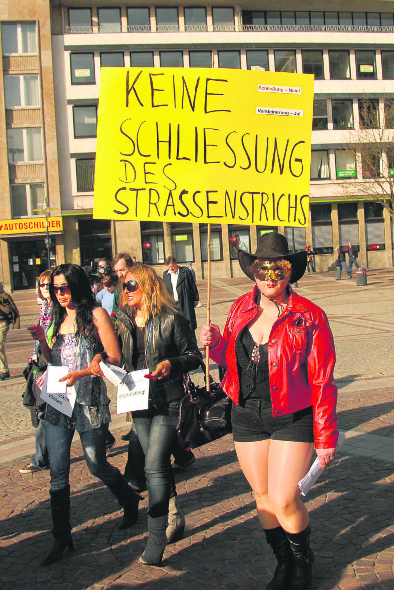 Nordstadt strich dortmund Straßenprostitution: Für