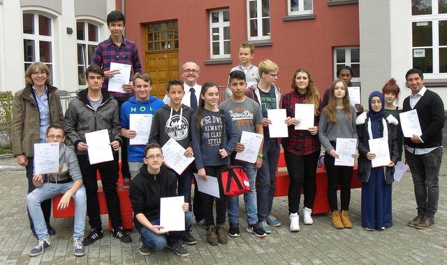 Neuer Schulsanitatsdienst Am Gbm Gelsenkirchen
