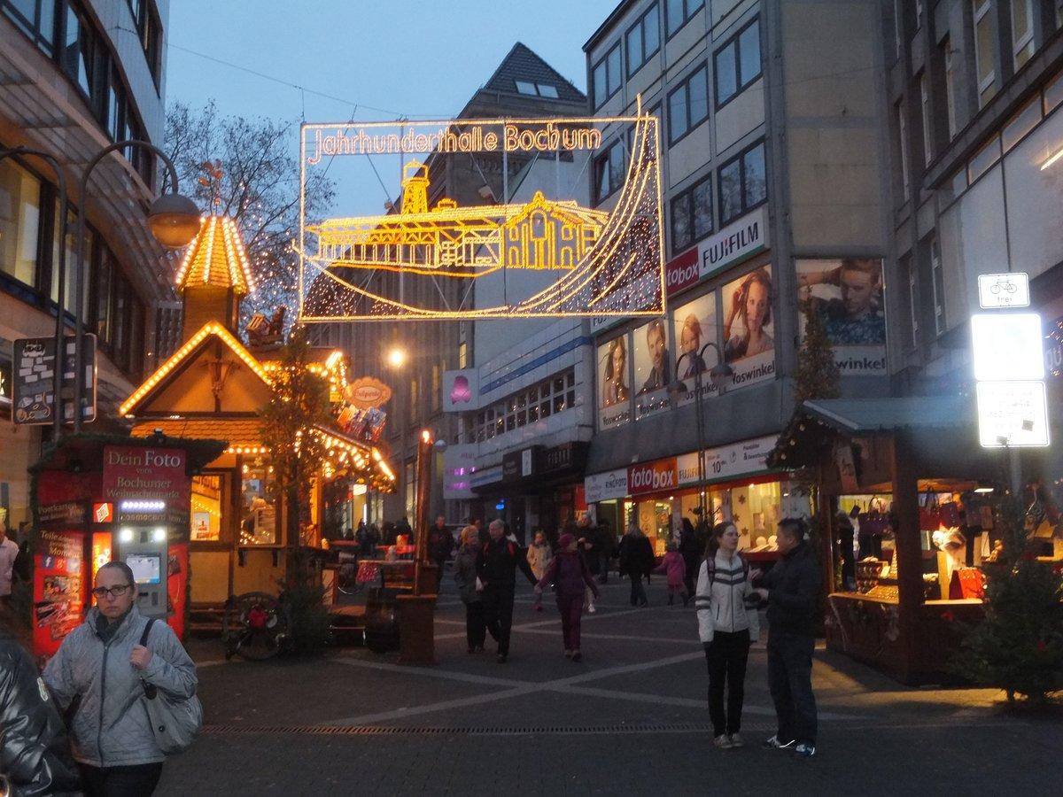 . Der Bochumer Weihnachtsmarkt 2014 ist er ffnet    Bochum