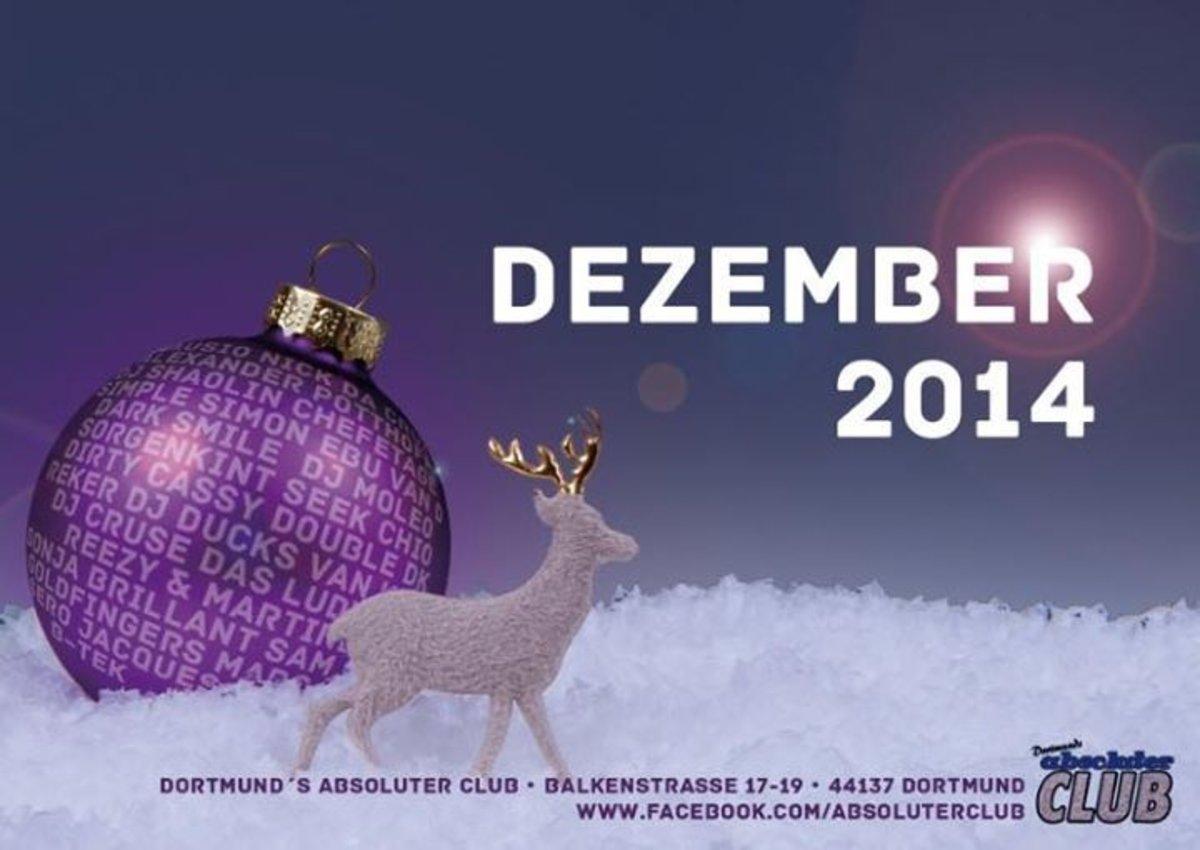 Monatsprogramm Dezember 2014 Für Den Absoluten Club In Dortmund