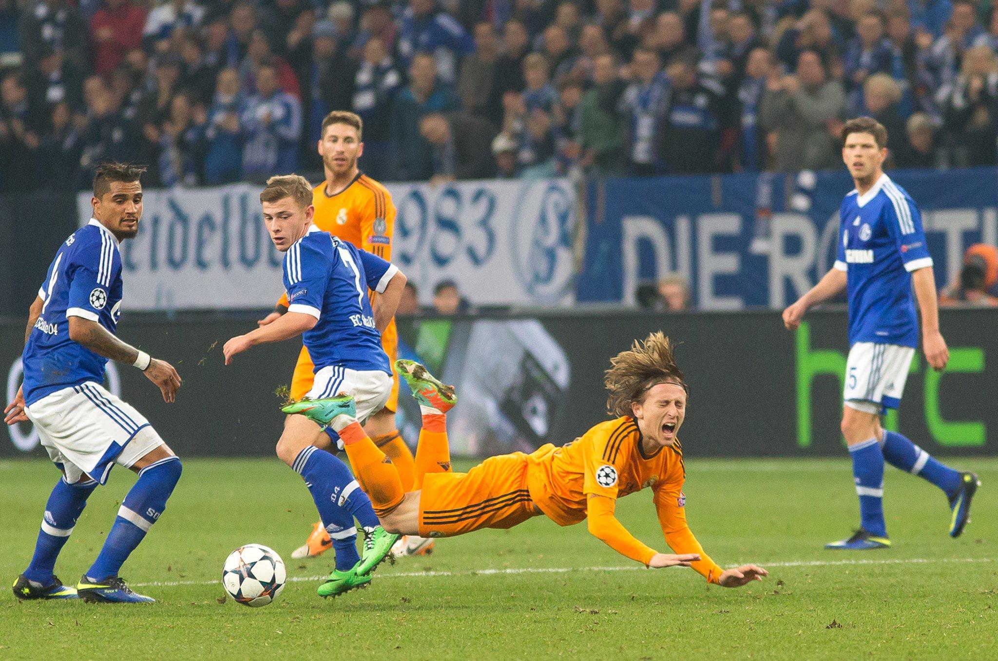Real Gegen Schalke