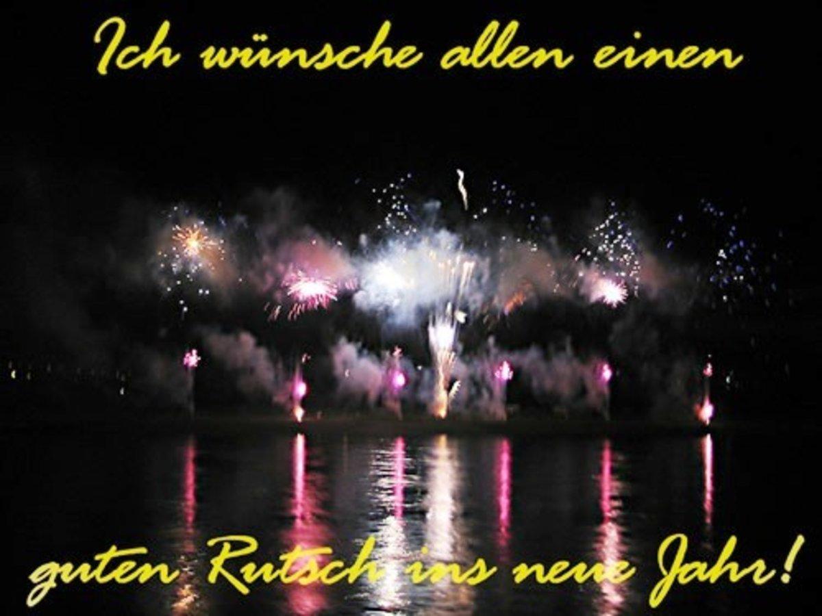 Wünsche allen einen guten Rutsch ins neue Jahr. - Gelsenkirchen