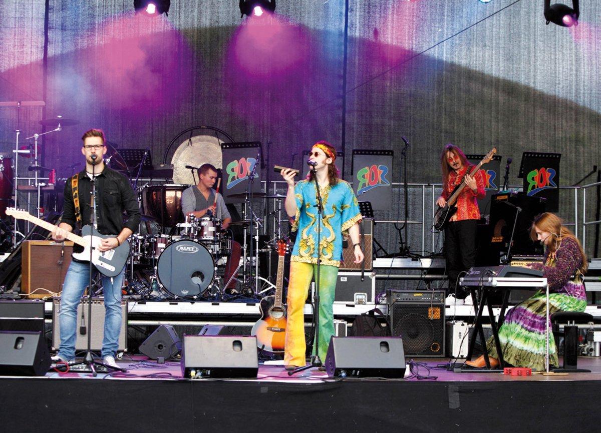 Love Peace The Blumengroup Bottroper Band Lässt Das
