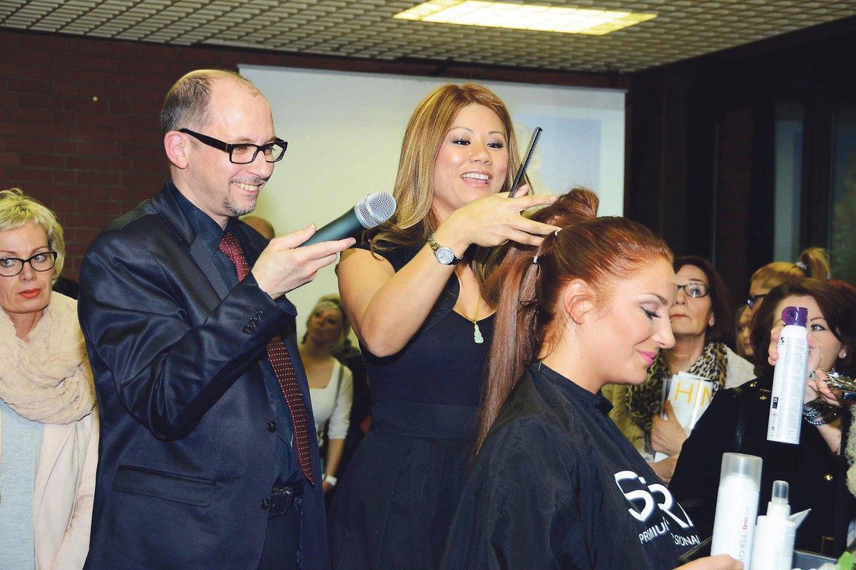 Neue Frisurentrends Hairstylistin Linda Tan Gibt Stylingtipps