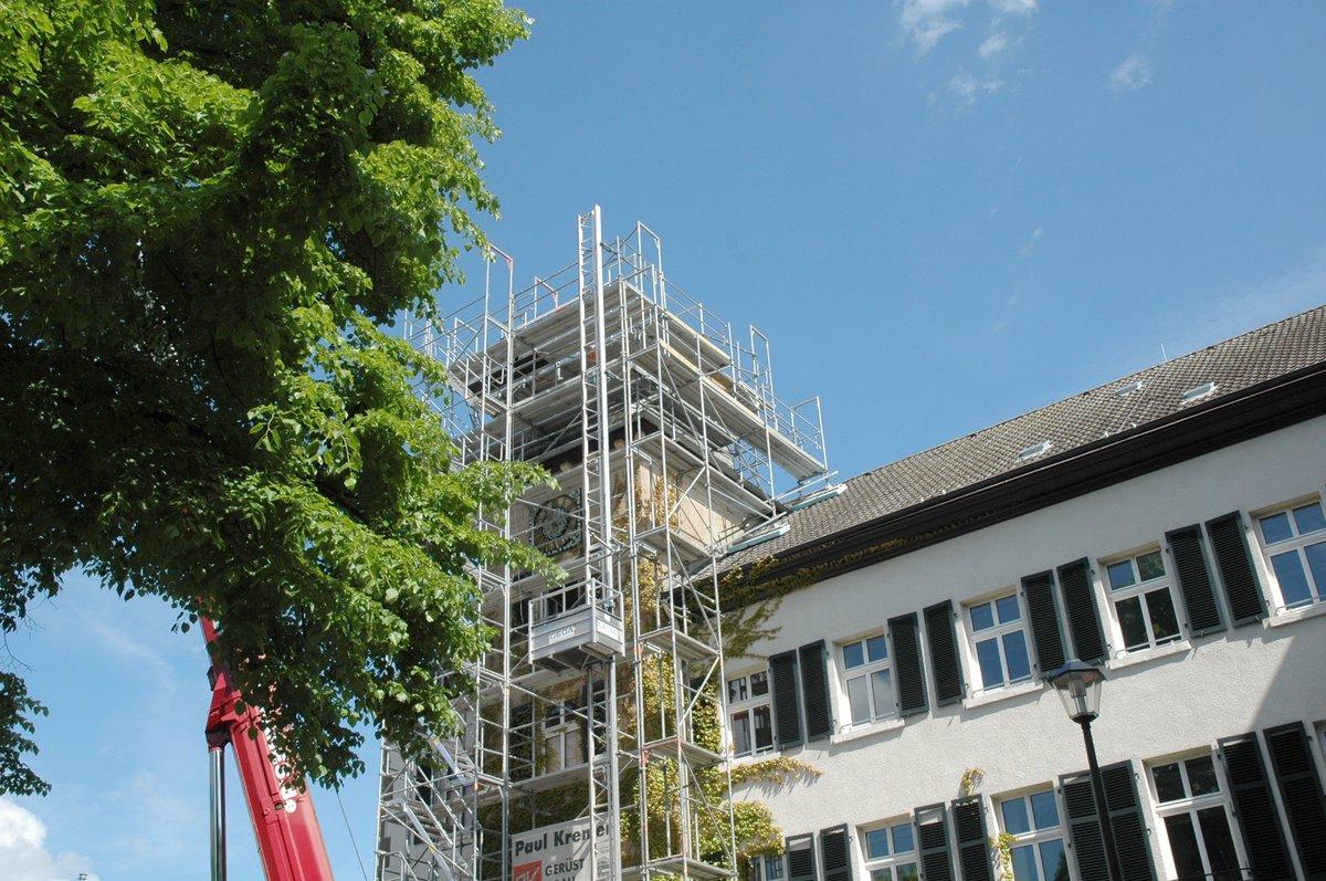 Der Rathausturm Ist Weg Essen Kettwig