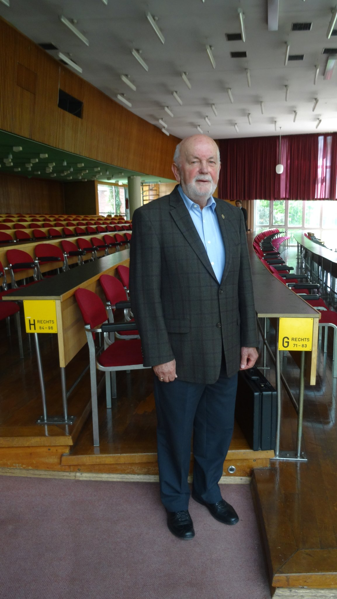 Franz Zimmermann Erstes Ehrenmitglied Des Boxsport Verbandes Nrw